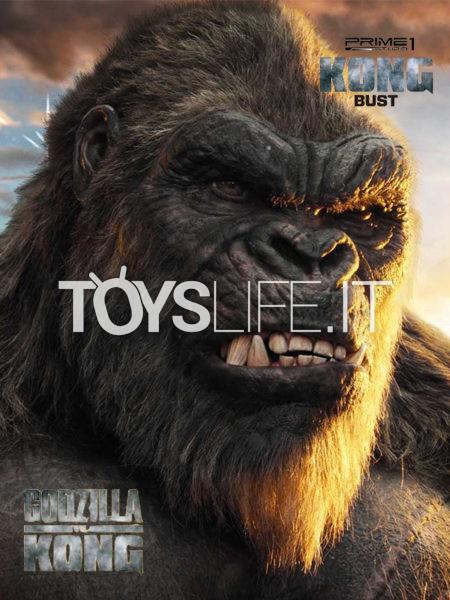Prime 1 Studio Godzilla vs Kong Bust Kong Bust 67 Cm