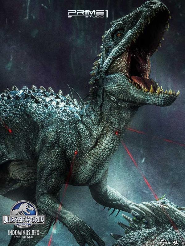 Prime 1 Studio Jurassic World Indominus Rex 1:15 Statue