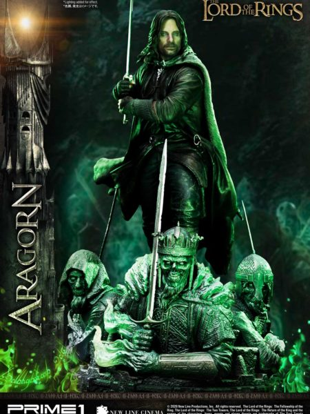 Prime 1 Studio The Lord of the Rings Aragorn 1:4 Deluxe Statue