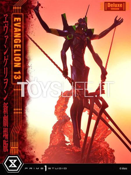 Prime 1 Studio Neon Genesis Evangelion Evangelion Unit 13 Deluxe Statue