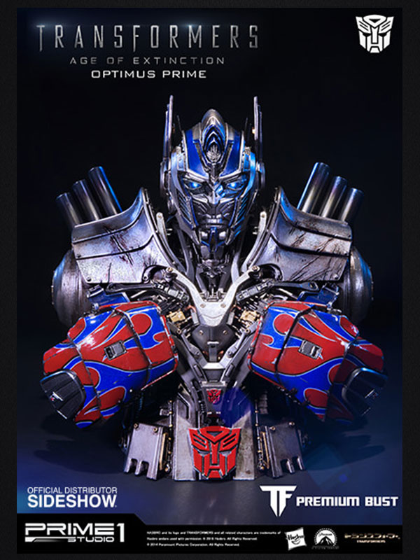 Prime 1 Studio Transformers Optimus Age Of Extinction Bust