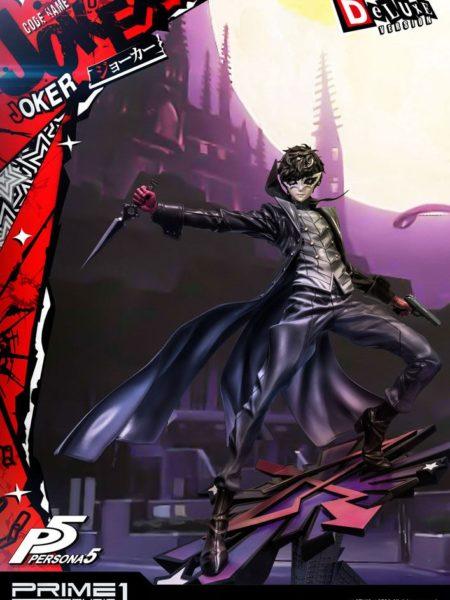 Prime 1 Studio Persona 5 Protagonist Joker 1:4 Deluxe Statue