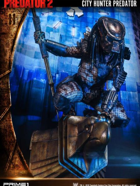 Prime 1 Studio Predator 2 City Hunter Predator Wall Art