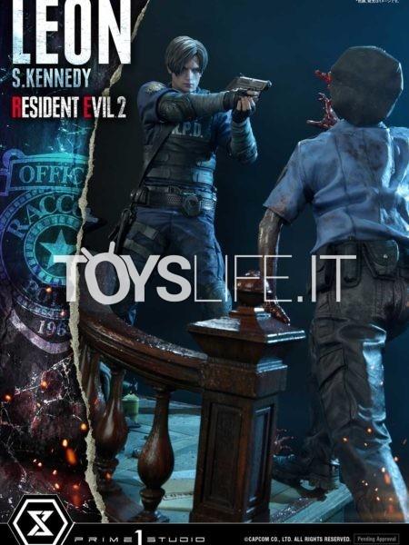 Prime 1 Studio Resident Evil 2 Leon S. Kennedy 1:4 Statue