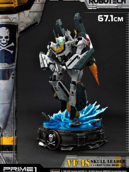 Prime 1 Studio Robotech Macross VF-1S Skull Leader Battloid Mode Statue