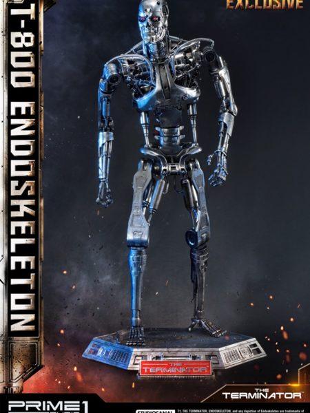 Prime 1 Studio Terminator T-800 Endoskeleton 1:2 Exclusive Statue