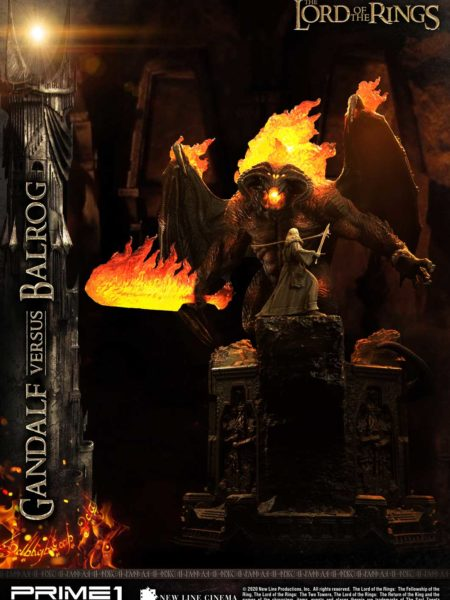 Prime 1 Studio The Lord of the Rings Gandalf Vs Balrog Statue