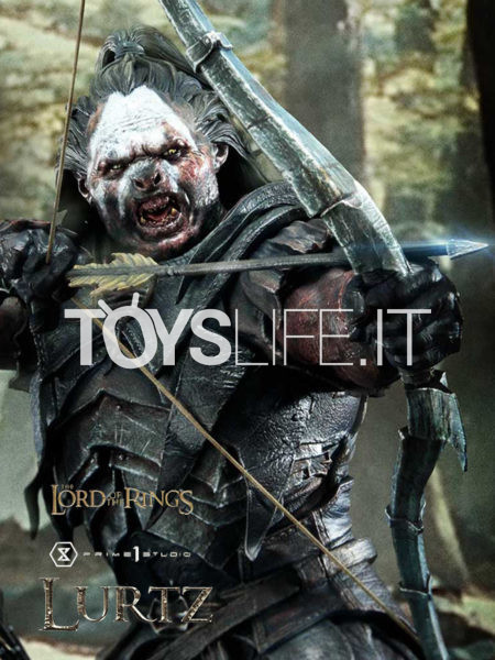Prime 1 Studio The Lord of the Rings Lurtz 1:4 Statue