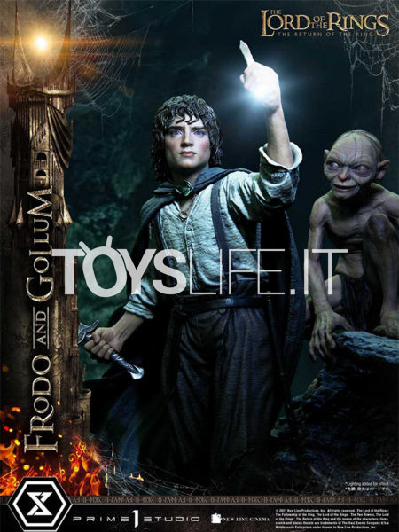 Prime 1 Studio The Lord of the Rings The Return of the King Frodo & Gollum 1:4 Statue Bonus Version