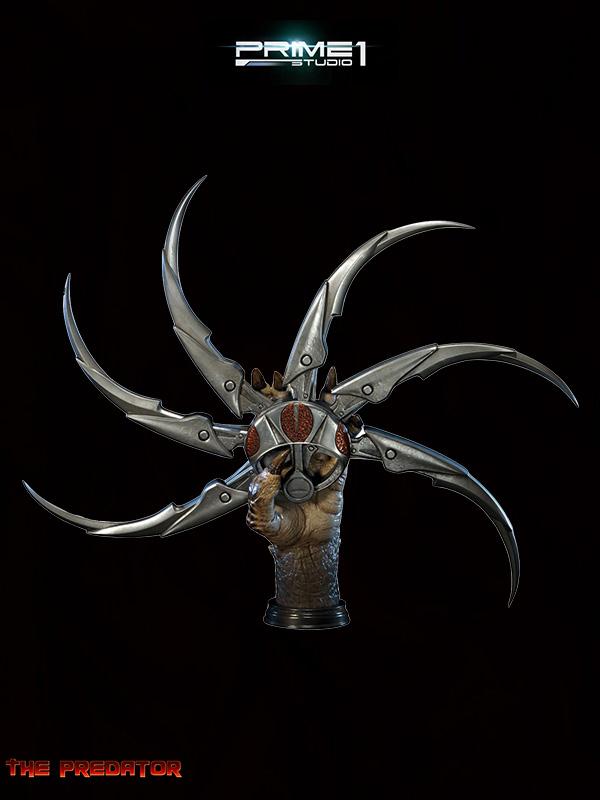 Prime 1 Studio The Predator Fugitive Predator Shuriken Lifesize Replica