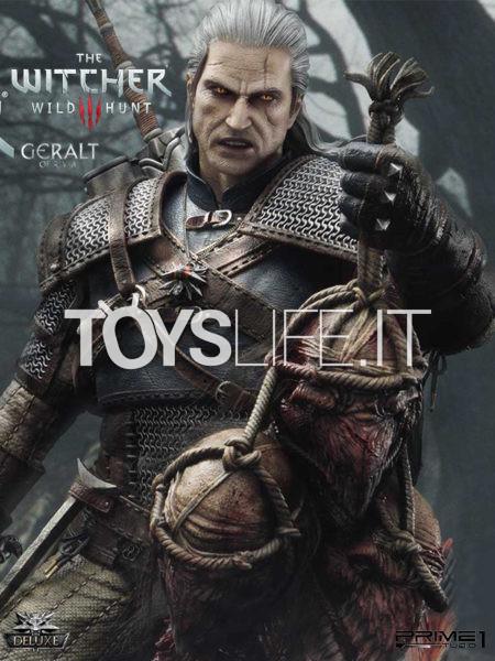 Prime 1 Studio The Witcher 3 Wild Hunt Geralt Of Rivia 1:3 Deluxe Statue