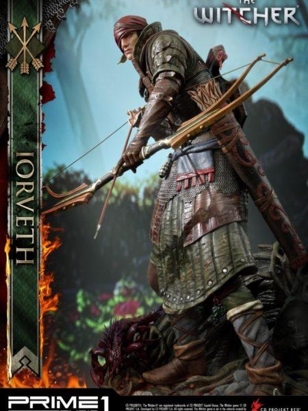 Prime 1 Studio The Witcher 2 Assassins of Kings Iorveth 1/4 Statue