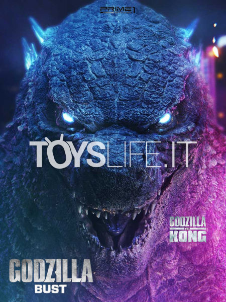 Prime 1 Studio Godzilla vs Kong Bust Godzilla Bust Bonus Version 75 cm