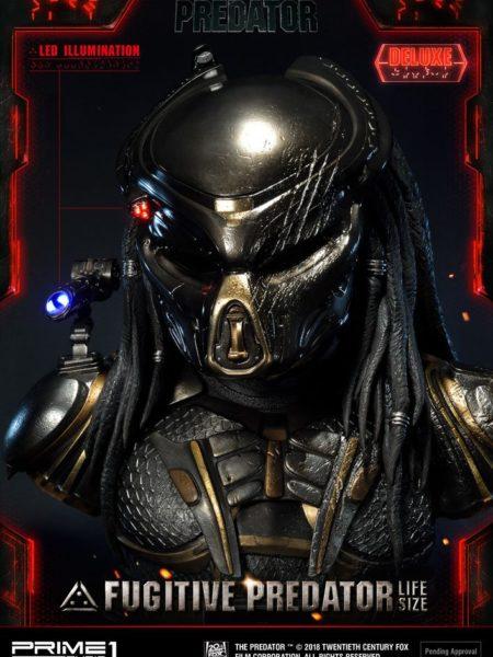 Prime 1 Studio The Predator 2018 Fugitive Predator Deluxe Lifesize 1:1 Bust