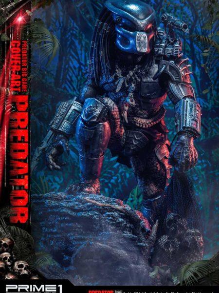 Prime 1 Studio Predator Big Game Cover Art Predator 1:4 Statue
