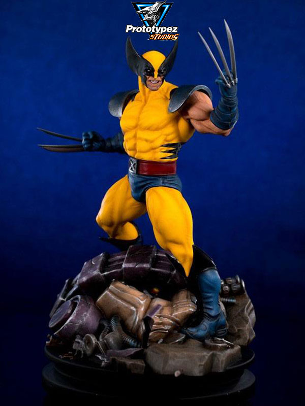 PrototypeZ Marvel Wolverine 1:6 Statue by Erick Sosa