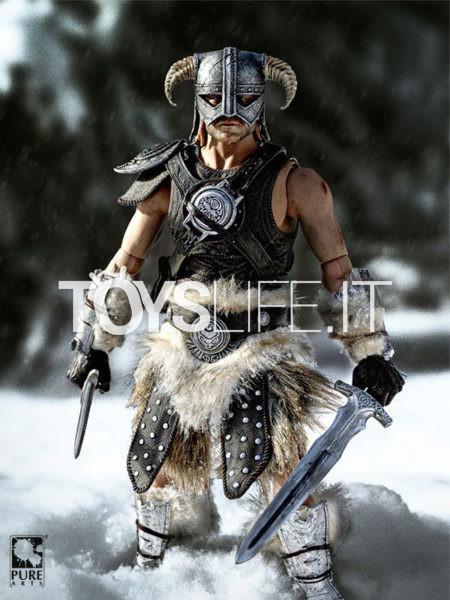 Pure Arts The Elder Scrolls V Skyrim Dragonborn 1:6 Figure