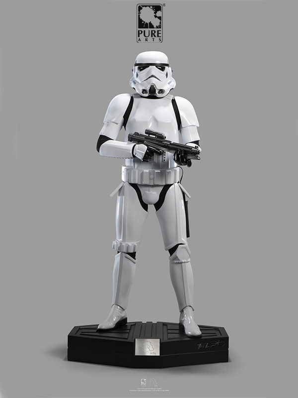 Pure Arts Star Wars Original Stormtrooper 1:3 Scale Statue