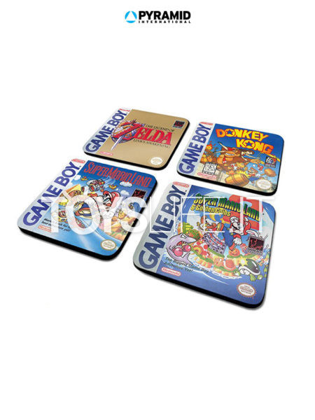 Pyramid International Gameboy Classic Collection 4-Pack Coaster Set