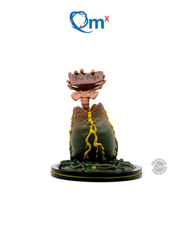 Quantum Mechanics Alien Facehugger Q-Fig Diorama