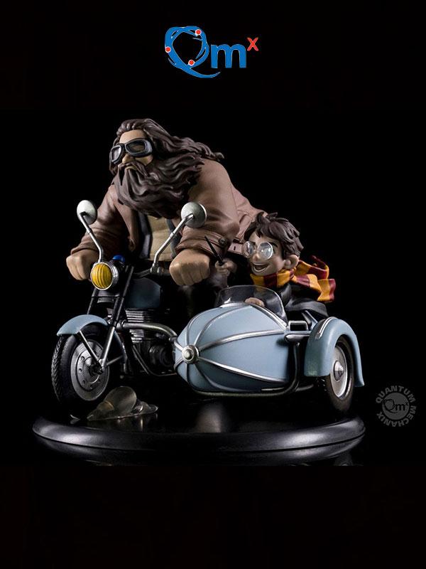 Quantum Mechanics Harry Potter Harry & Rubeus Hagrid Q-Fig Max Diorama