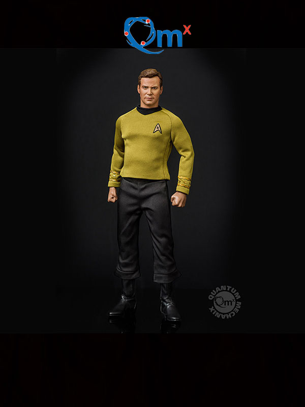 Quantum Mechanix Star Trek TOS 50th Anniversary Captain Kirk 1:6 Figure