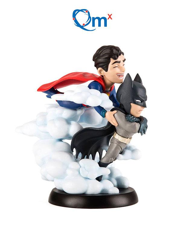 Quantum Mechanics DC Superman & Batman Q-Fig Figure