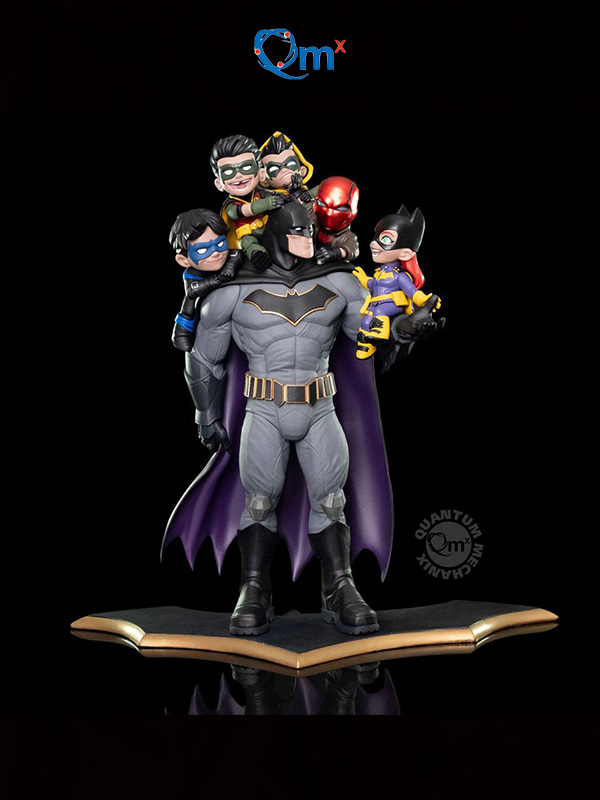 Quantum Mechanics DC Comics Batman Family Q-master Diorama Limited Edition