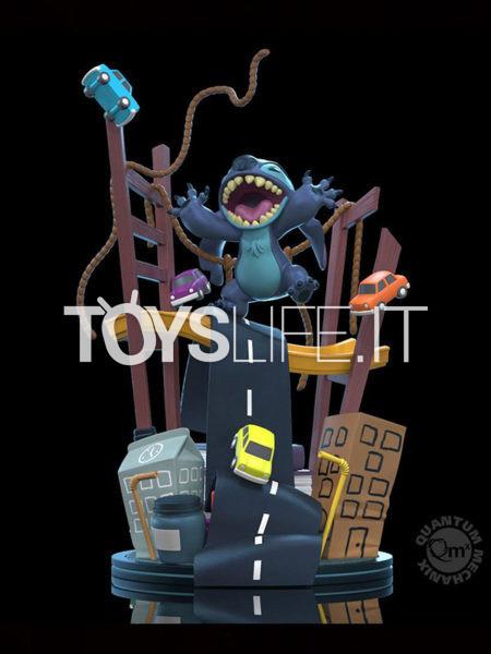 Quantum Mechanics Disney Lilo & Stitch Stitch x San Francisco Q-Fig Max Elite Figure
