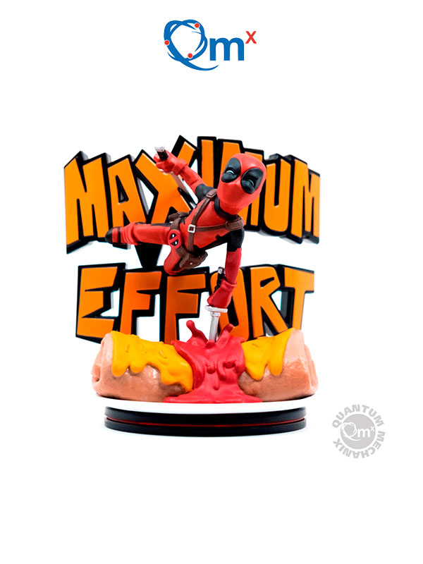 Quantum Mechanics Marvel Deadpool Q-Fig Max Figure