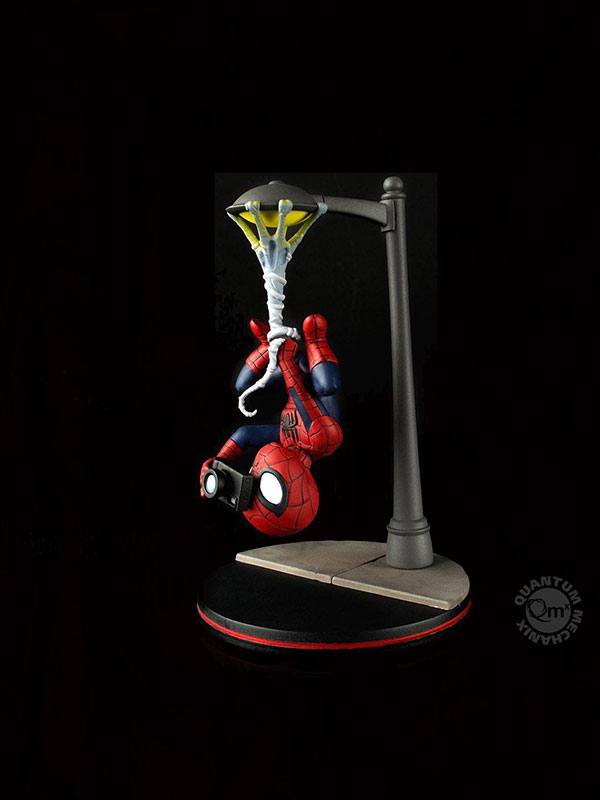 Quantum Mechanics Marvel Spiderman Cam Q-Fig