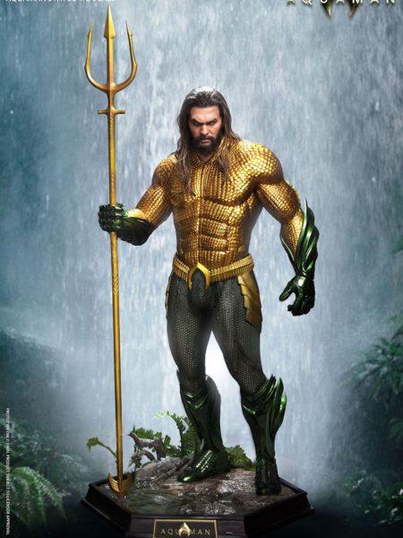 Queen Studios DC Aquaman Aquaman Jason Momoa 1:2 Statue