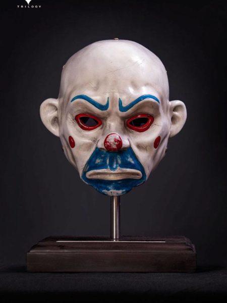 Queen Studios Batman The Dark Knight The Joker-Clown Mask 1:1 Prop Replica