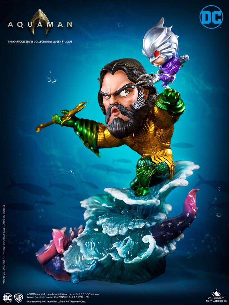 Queen Studios DC Comics Aquaman Cartoon 1:3 Statue