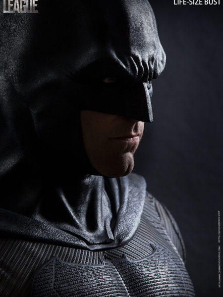 Queen Studios DC Justice League Batman 1:1 Lifesize Bust