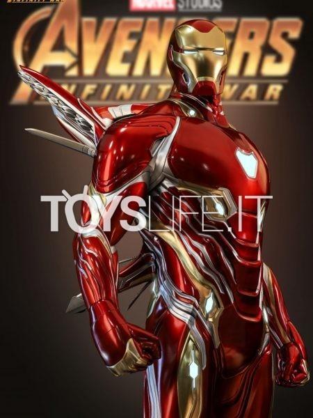 Queen Studios Marvel Avengers Infinity War Ironman Mark 50 1:2 Statue