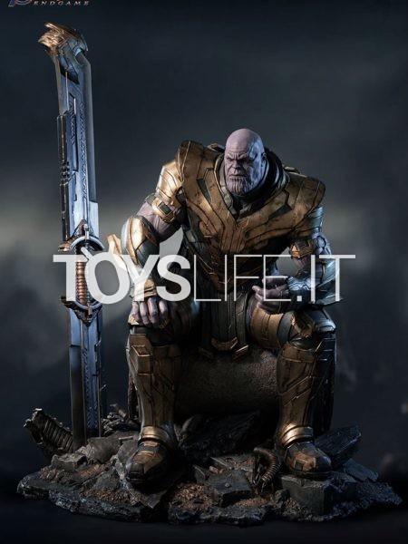 Queen Studios Marvel Avengers Endgame Thanos 1:4 Statue