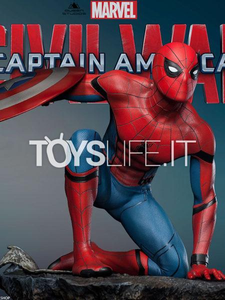 Queen Studios Marvel Captain America Civil War Spiderman 1:4 Premium Statue