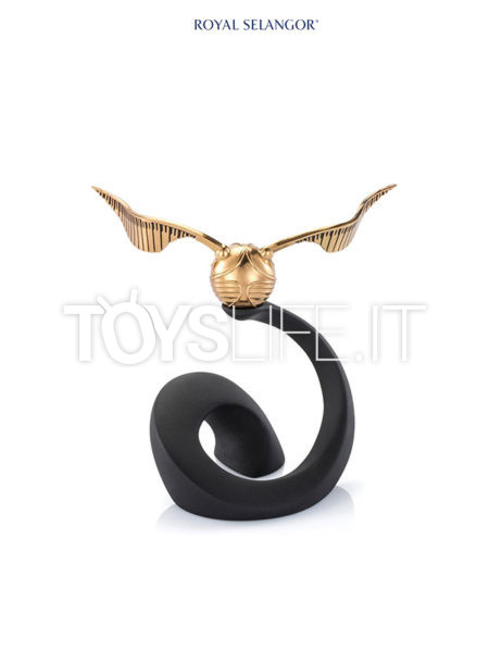 Royal Selangor Harry Potter Pewter Collectible Golden Snitch 1:1 Replica