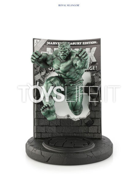 Royal Selangor Marvel Pewter Collectible Hulk Green Finish Limited Statue