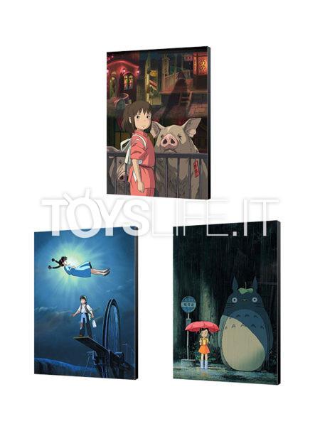 Semic Studio Ghibli Spirited Away/ Castle in the Sky/ My Neighbor Totoro 35x50 Wood Art