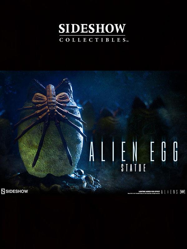 Sideshow Aliens Alien Egg Statue