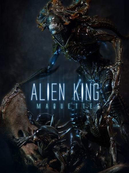 Sideshow Aliens Alien King Maquette