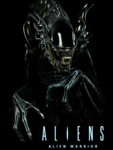 Sideshow Aliens Alien  Warrior Maquette