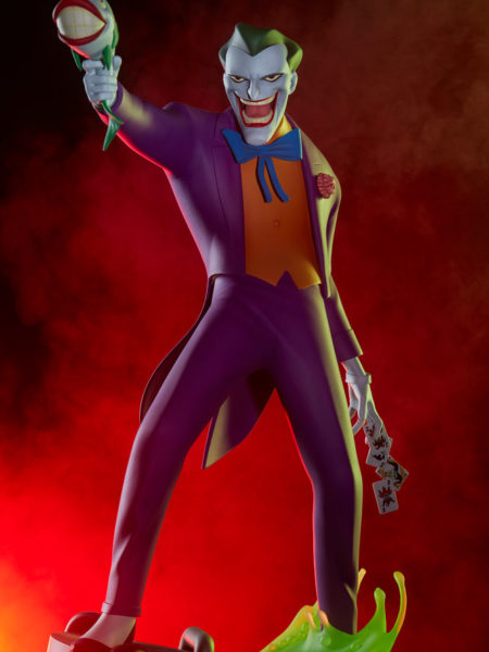 Sideshow DC Batman The Animated Series The Joker Statue