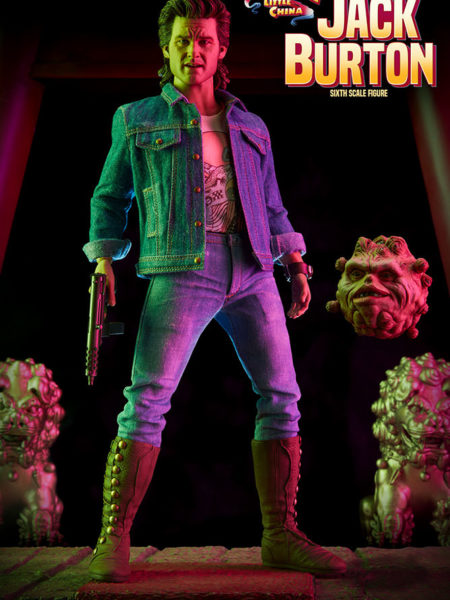 Sideshow Big Trouble In Little China Jack Burton 1:6 Figure Exclusive