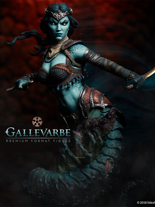 Sideshow Court of the Dead Gallevarbe Eyes of the Queen Premium Format