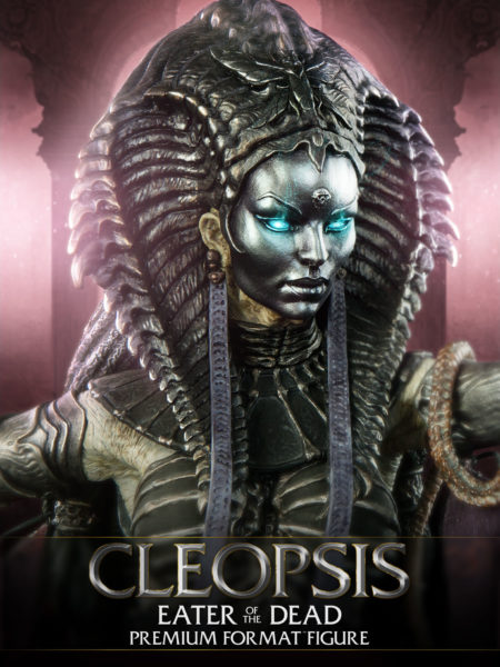 Sideshow Court Of Dead Cleopsis Eater Of The Dead Premium Format