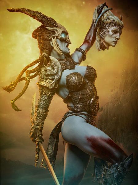 Sideshow Court Of The Dead Kier Death's Warbringer Premium Format