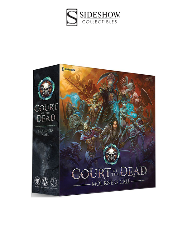 Sideshow Court of the Dead Mourners Call Gameboard English Version